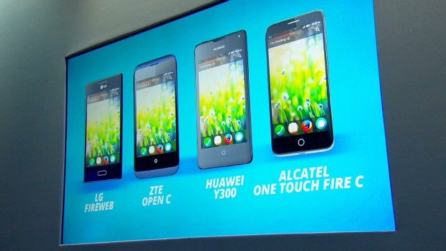 Mozilla unveil plans for cheap smartphones