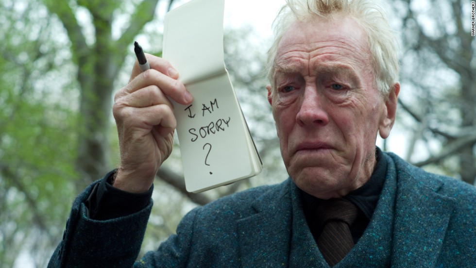 "The great Swedish actor Max von Sydow has been nominated for two Oscars. His first nomination came in 1989 for ""Pelle the Conquerer,"" and the second came when he was 82, for 2011's ""Extremely Loud & Incredibly Close."""