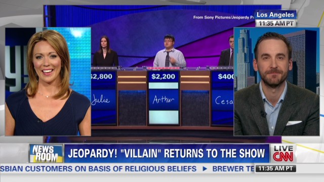 'Jeopardy!' champion called a villain