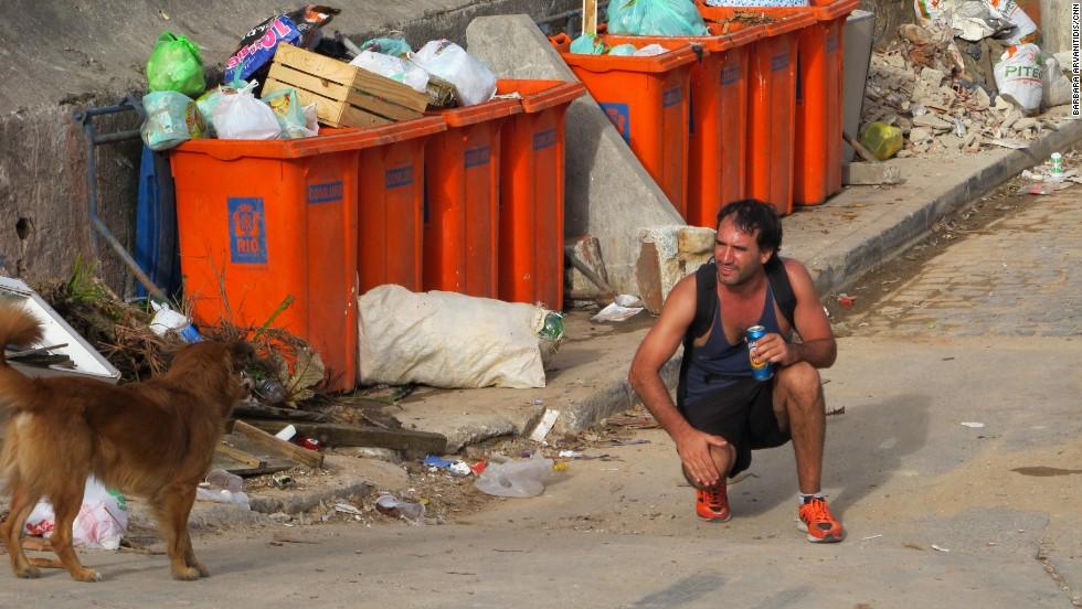 Rio's slums the hot World Cup destination?