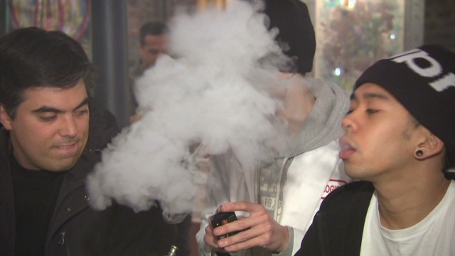 So what's in those e-cigarettes?