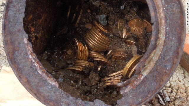 Couple finds $10M in gold coins