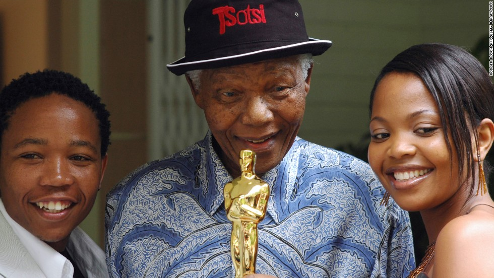 """Tsotsi"" (2005), starring Presley Chweneyagae and Terry Pheto. The captivating drama won the Oscar for Best Foreign Language Film of the Year."