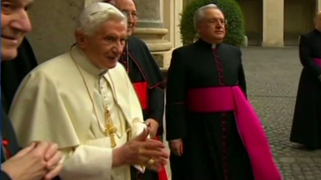 Pope Benedict: Papacy rumors 'absurd'