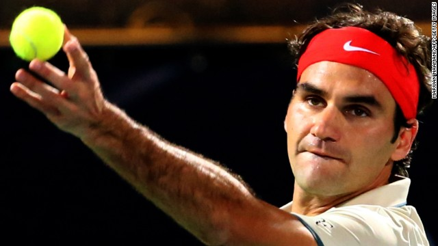 Former world No. 1 Roger Federer is bidding to win the tournament in Dubai for the sixth time in his career.