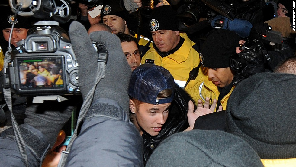 "<strong>10. Got arrested. Twice. In one week:</strong> In case anyone, anywhere missed the memo about Bieber being music's newest bad boy, the star got himself arrested twice in one week. He was arrested in Miami on January 23, 2014, on a DUI charge, and again in Toronto on January 29 for an alleged assault charge. Not to mention he was also dealing with California officials who are investigating <a href=""http://www.cnn.com/2014/02/25/showbiz/justin-bieber-legal-troubles/index.html?iref=allsearch"" target=""_blank"">a potential vandalism charge for an alleged egging. </a>"