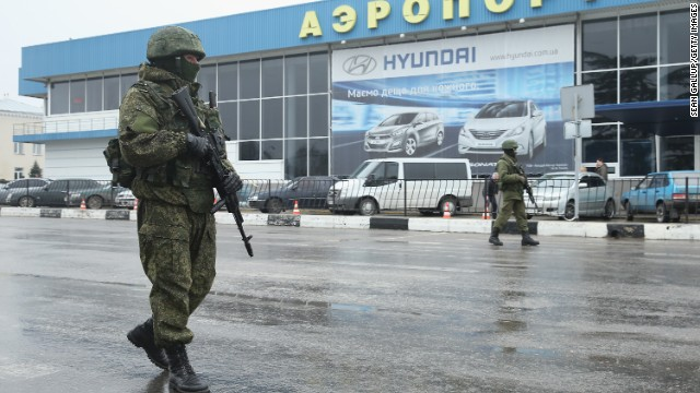 Ukraine: Russian soldiers invaded airport