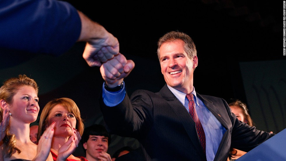 The tea party's first big win came in January 2010 when Scott Brown won a special election to fill out the term of the late Sen. Edward Kennedy of Massachusetts. He was ousted from the seat in 2012 by liberal Democrat Elizabeth Warren.