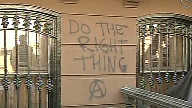Spike Lee family home vandalized