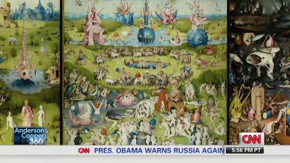 Weird detail found in historic painting - CNN Video