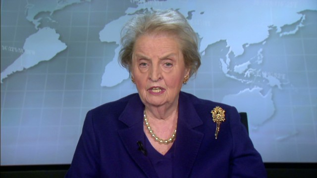 Albright: Putin miscalculated in Ukraine