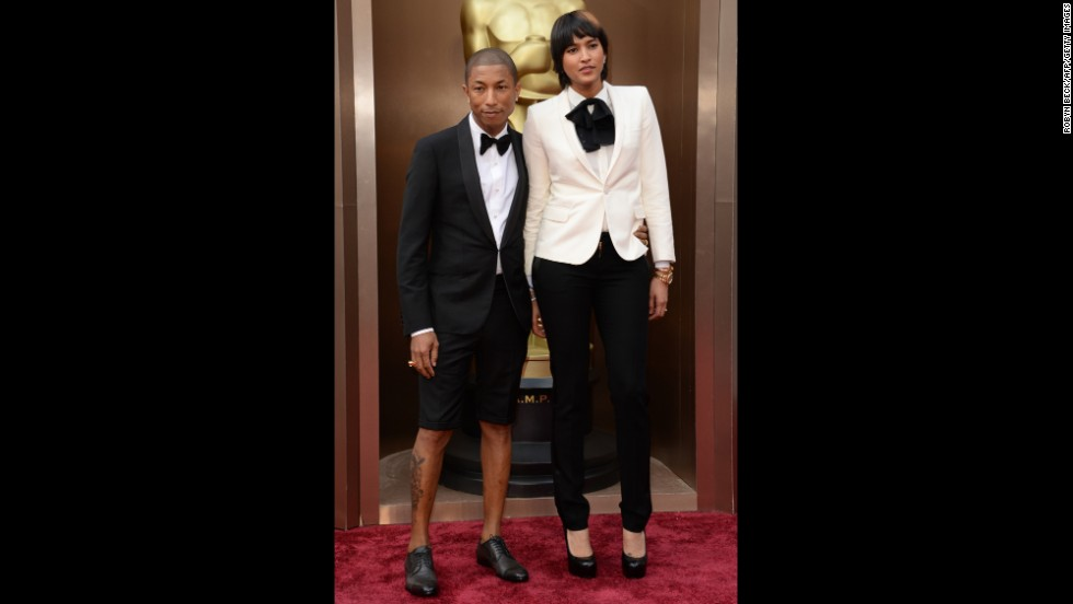 Pharrell Williams and his wife, Helen Lasichanh
