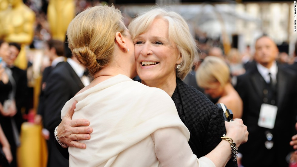Meryl Streep, left, and Glenn Close