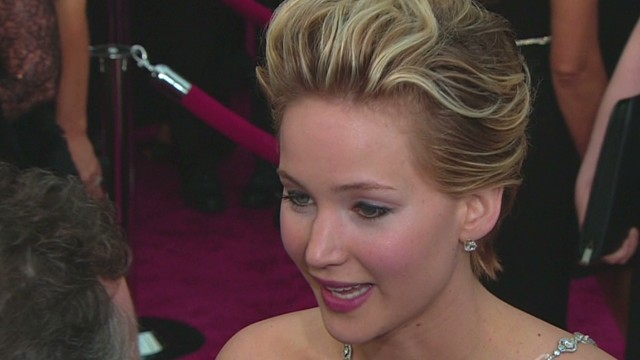 Jennifer Lawrence: 'I tripped on a cone'