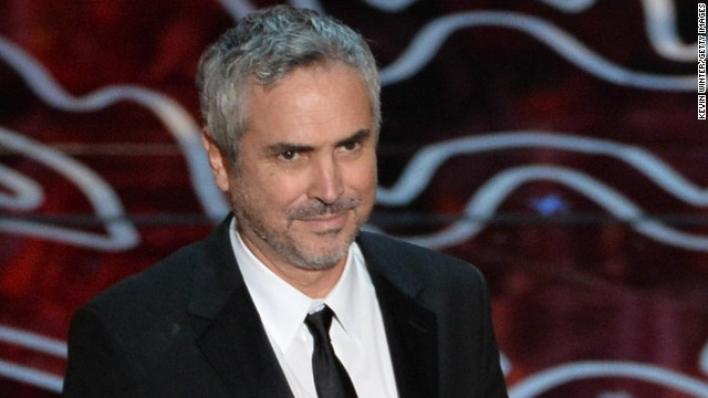 Director Alfonso Cuarón is filming a project in his hometown of Mexico City.