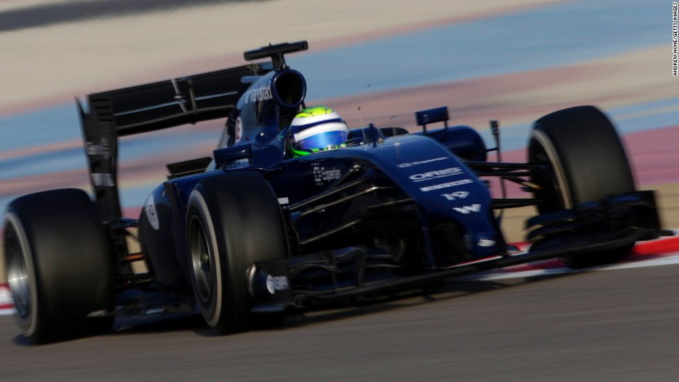 However the fastest time of the weekend was set by Felipe Massa, the Brazilian who is preparing for his first grand prix at Williams after ending an eight-year stay with Ferrari.