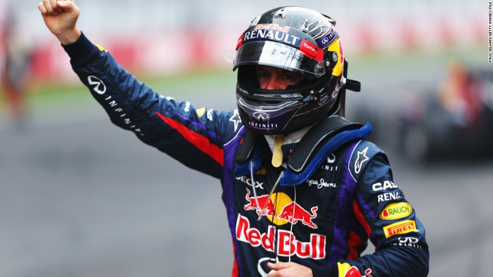 It's far cry from the end of the 2013 season, which saw Vettel celebrate a fourth successive drivers' championship. Red Bull also took the constructors' championship for a four straight year.
