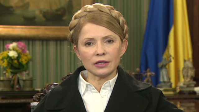 Exclusive: Ukraine's Tymoshenko speaks to CNN's Amanpour