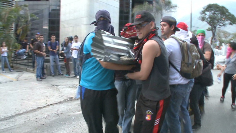 Protesters organize against riot police - CNN Video