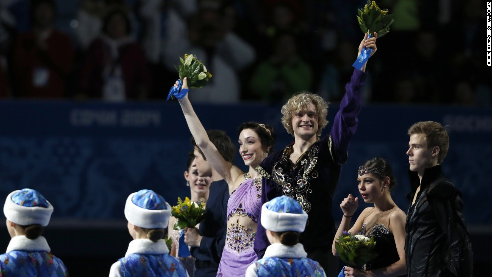 "U.S. gold medalists Meryl Davis and Charlie White are both competing in the 18th season of ""Dancing With the Stars."" Davis is dancing with returning pro Maksim Chmerkovskiy, and White is pairing off with pro partner Sharna Burgess."