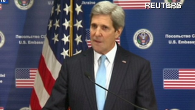 Kerry: Freedom won't be silenced by thugs