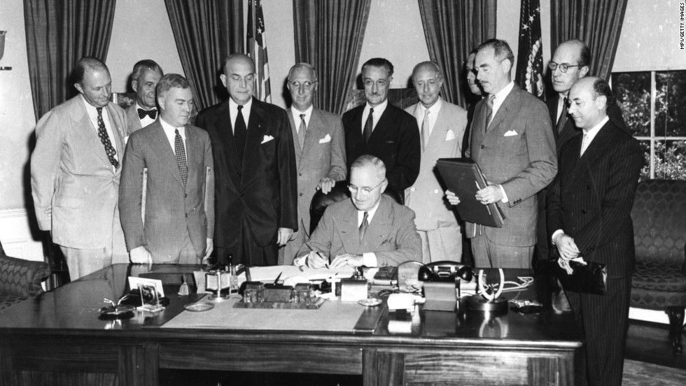 a history of the truman presidency in the cold war The truman doctrine was an american foreign policy whose stated purpose was to counter soviet geopolitical expansion during the cold warit was first announced to congress by president harry.