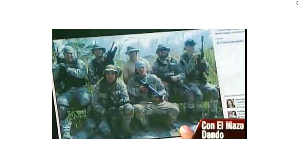 Cabello also displayed this photo on television, claiming that one of the victims of the clashes was actually a mercenary who was killed by his own people for not following orders. The Venezuelan Airsoft Federation released a statement saying that in reality, the man was an Airsoft player with no military ties whatsoever.