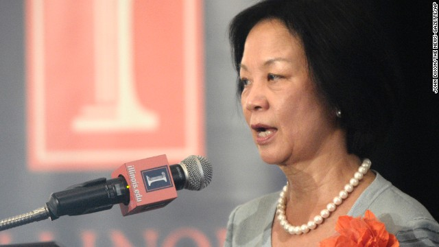 Phyllis Wise is the the chancellor of the University of Illinois at Urbana-Champaign.