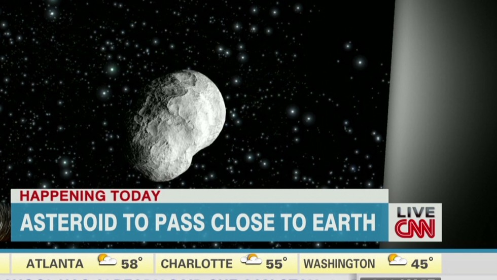 Asteroid to pass close to Earth  - CNN Video