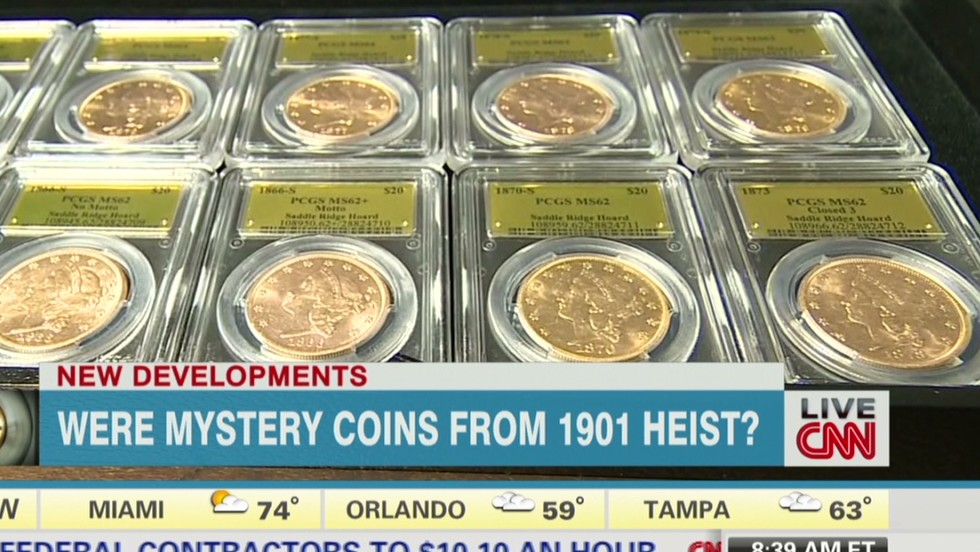 Could century-old theft explain mystery of gold coins?