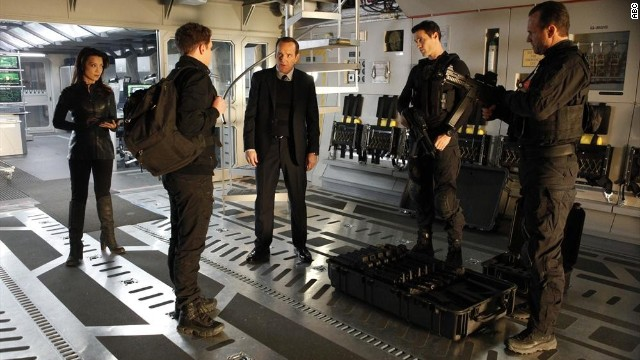 "Clark Gregg (center) stars as Agent Coulson in ABC's ""Marvel's Agents of S.H.I.E.L.D."""