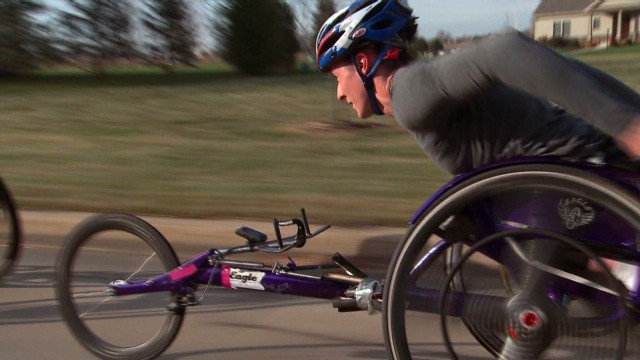 Adopted Paralympian fulfills new dream