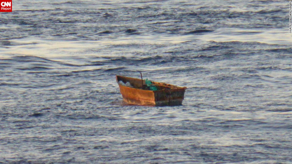 The stranded boat was left adrift in the Caribbean Sea after all passengers were brought on board the Paradise.