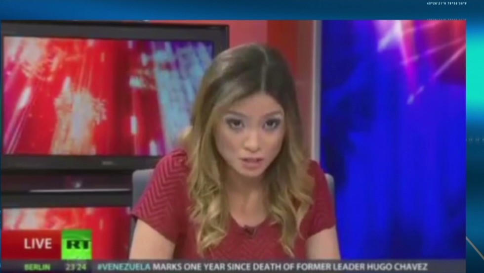Anchor quits: I can't be part of network 'that whitewashes' Putin's actions