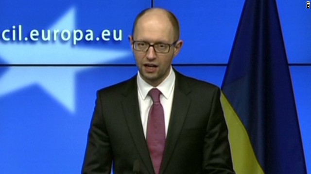 Ukrainian PM urges Russia to pull back
