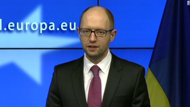 Ukraine's PM defiant and passionate