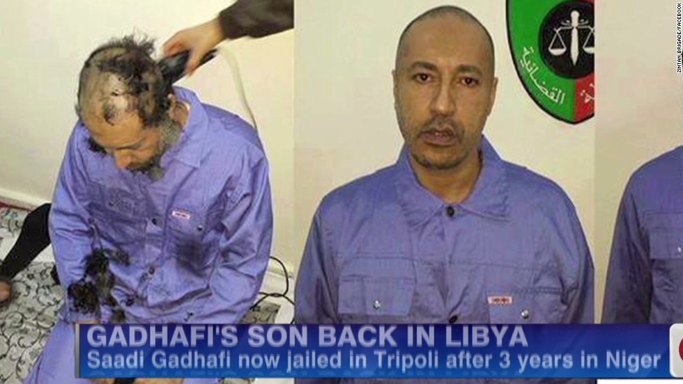 Moammar Gadhafi's son extradited to Libya from Niger