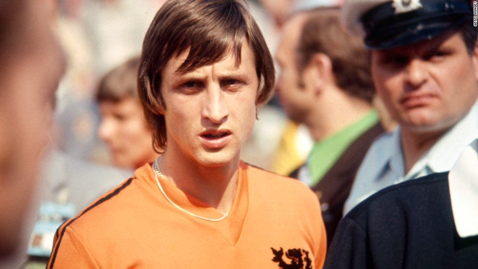 Despite losing the final, Cruyff received the Player of the Tournament award for his efforts in West Germany.