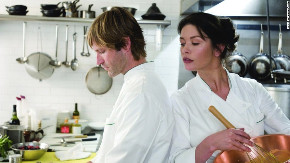 "<strong>""No Reservations"" (2007):</strong> The lives of Aaron Eckhart and Catherine Zeta-Jones take a turn after she becomes guardian of a young relative. It's a remake of the German film ""Mostly Martha."""
