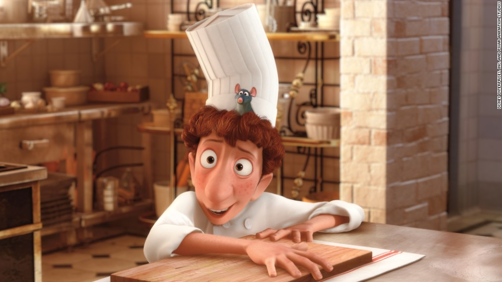"<strong>""Ratatouille"" (2007):</strong> The animated film about a rat who can cook boasts an all-star cast including Patton Oswalt and Peter O'Toole."