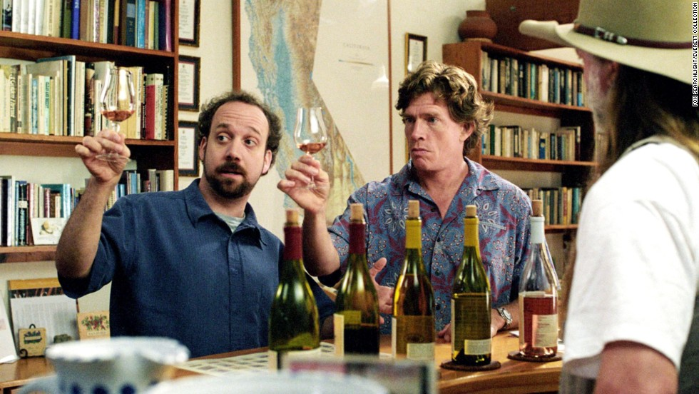 "<strong>""Sideways"" (2004):</strong> Yes, there is plenty of wine in this movie starring Paul Giamatti and Thomas Haden Church, but you have to have food to go along with all that libation, right?"