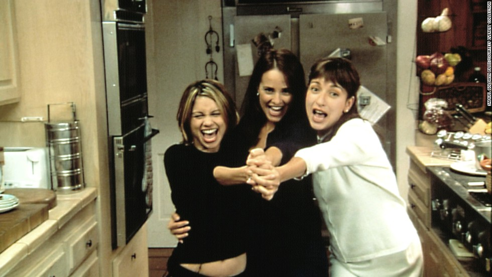 "<strong>""Tortilla Soup"" (2001):</strong> Jacqueline Obradors, Tamara Mello and Elizabeth Peña star in this film based on Ang Lee's ""Eat Drink Man Woman."" In this version, the chef is Mexican and must deal with the exploits of his three daughters."