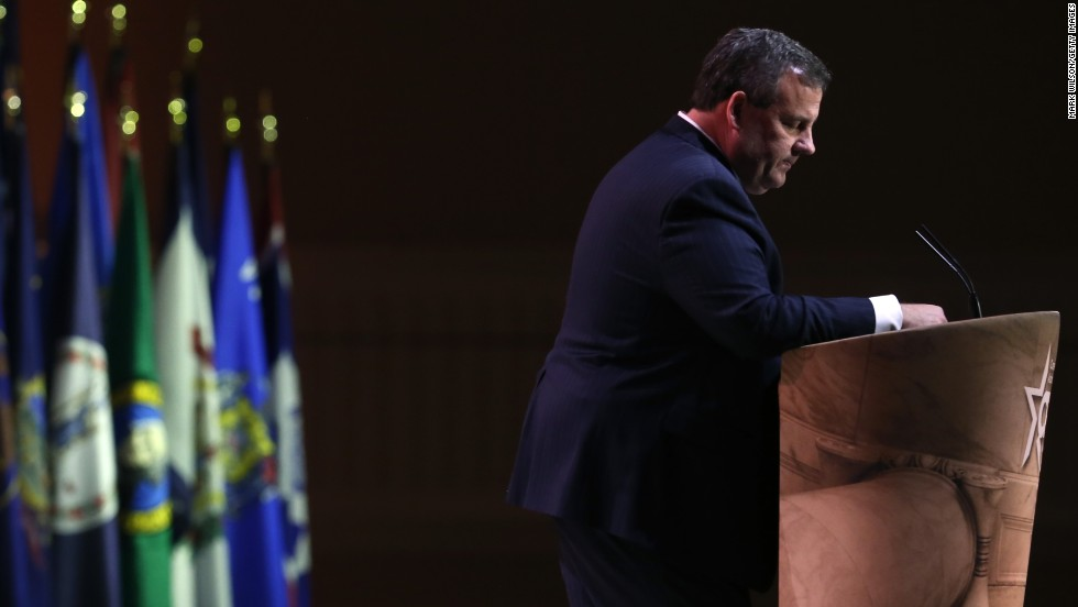 "Gov. Chris Christie of New Jersey told the conservative gathering that Republicans need to push their ideas. ""We've got to start talking about what we're for and not what we're against,"" Christie said."