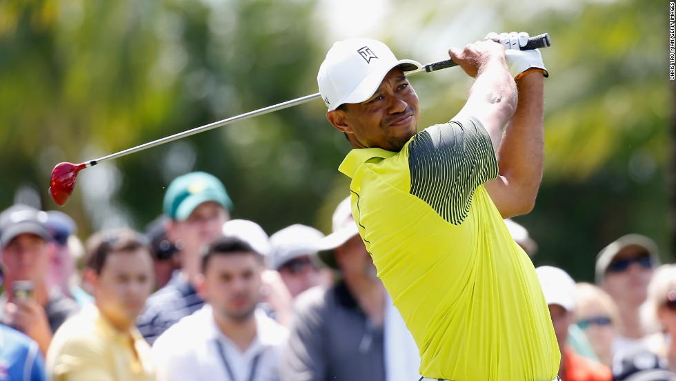 Woods refuses to be blown off course at Cadillac Championship