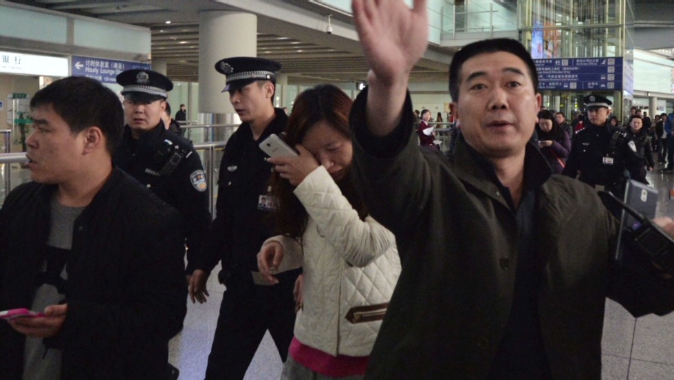 Family members await word in Beijing - CNN Video