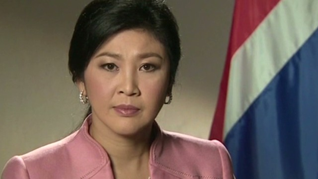 ONLY ON CNN: Thai PM comments