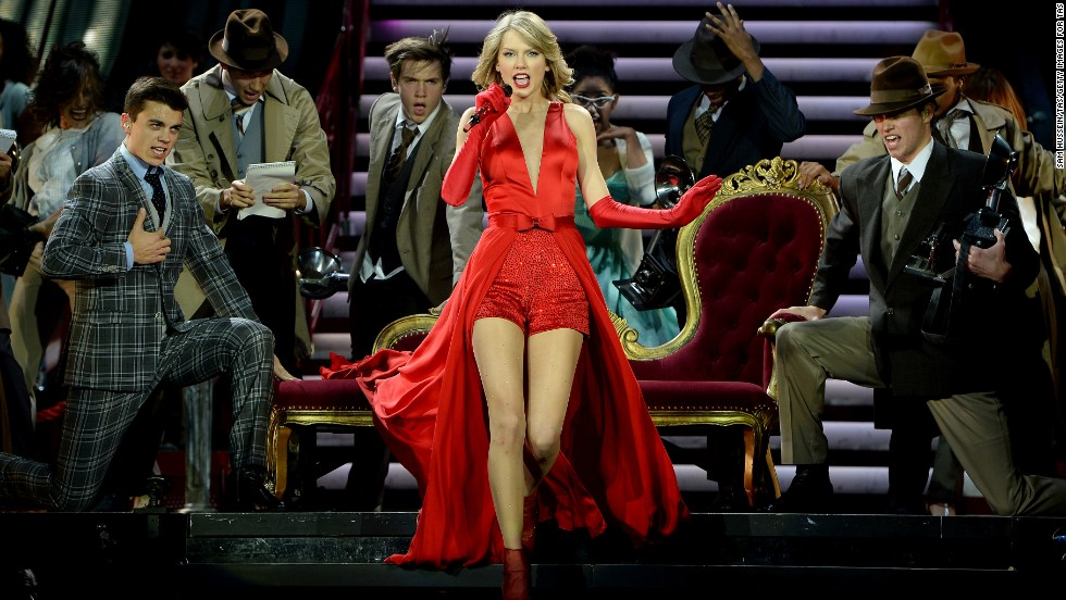 Taylor Swift remained one of the world's biggest stars in any genre in 2013. Forbes estimates her take last year at $64 million, thanks in part to a lucrative tour and a number of endorsements.