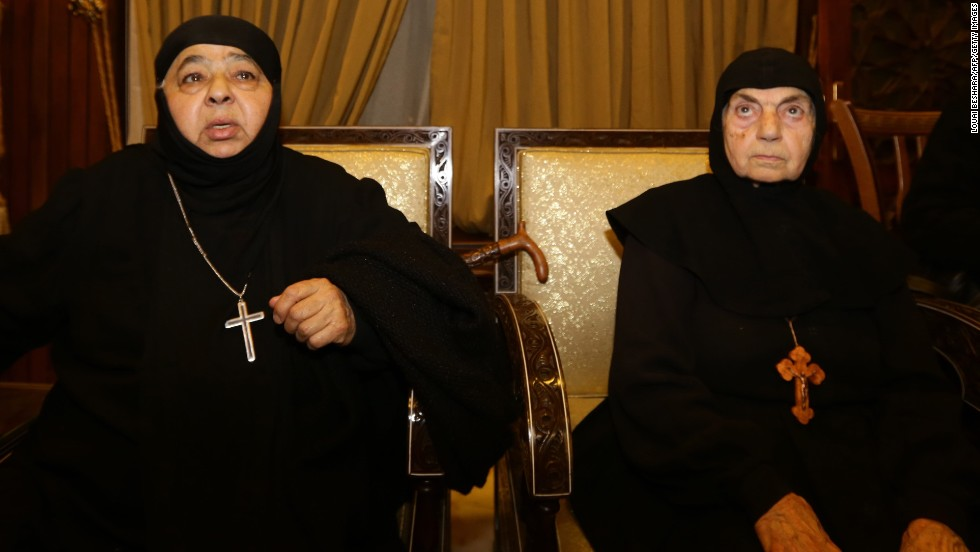 Reports: 13 nuns freed by kidnappers in Syria