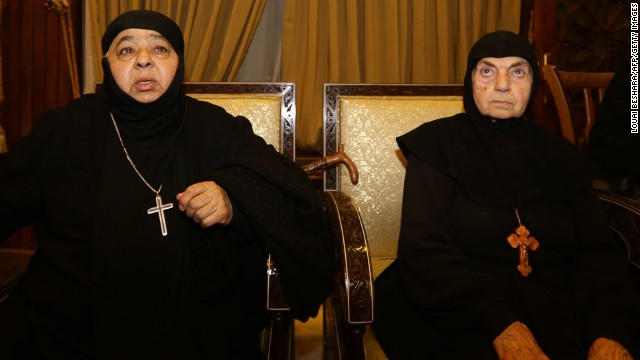 13 nuns freed by kidnappers