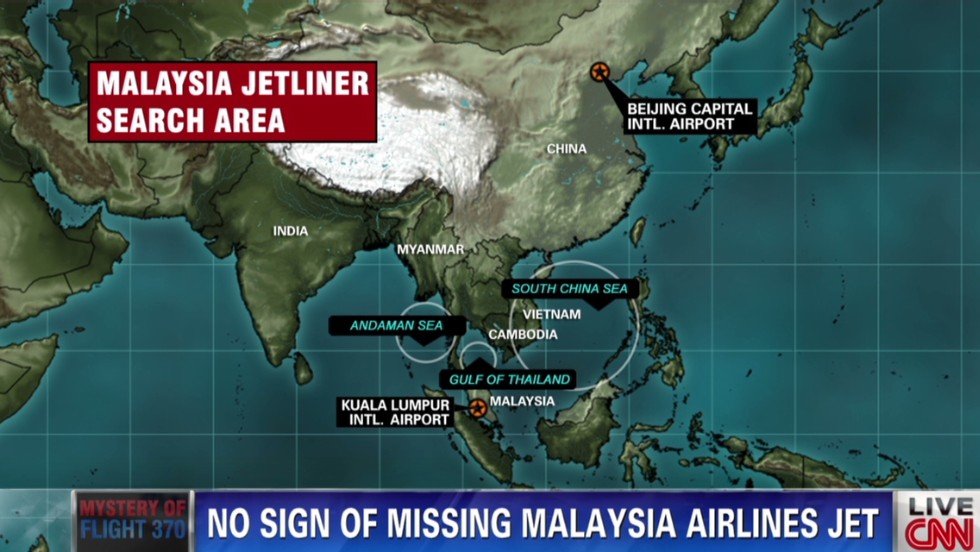 Missing Malaysia Airlines Flight 370: What we know and don't know